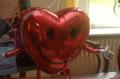 Folien-Ballon-Airwalker-Herz