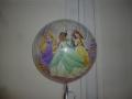 Bubble Ballon Princess Rückseite