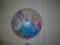 Bubble Ballon Princess Vorderseite
