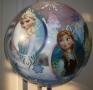Bubbleballon Eisprinzessin vorne