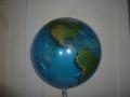 Bubbleballon Globus Vorderseite