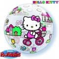 Bubble Folienballon Hello Kitty