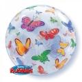 Bubble Folienballon Schmetterlinge