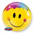 Bubble Folienballon Smiley