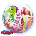 Bubble Folienballon Unterwasserwelt