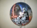 Bubble Ballon StarWars 2  Vorderseite