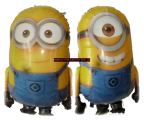 Folien-Ballon-Minions