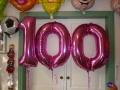 Folien-Ballon-Zahlen 100