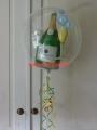 Folien-Ballon-Sektflasche