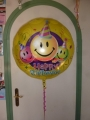 Folienballon Geburtstag 90 cm rund