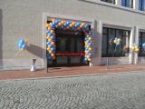 Gewerbe-Werbung-Girlanden-Ostfriesische-Volksbank