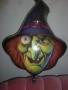 Folienlballon Halloween Hexe