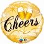 Folienballon Hochzeit 45cm Cheers