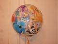 Bubble Ballon Kinder Tiere Vorderseite