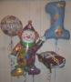 Folienballons zum 1. Geburtstag