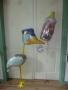 Geburt Mädchen Nuckelflasche und Storch Airwalker