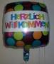 Folien-Ballon-Herzlich-Willkommen