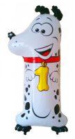 Folienballon-Zahl-1-Hund