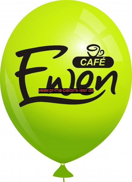 Werbeballon-bedruckt-Hellgruen