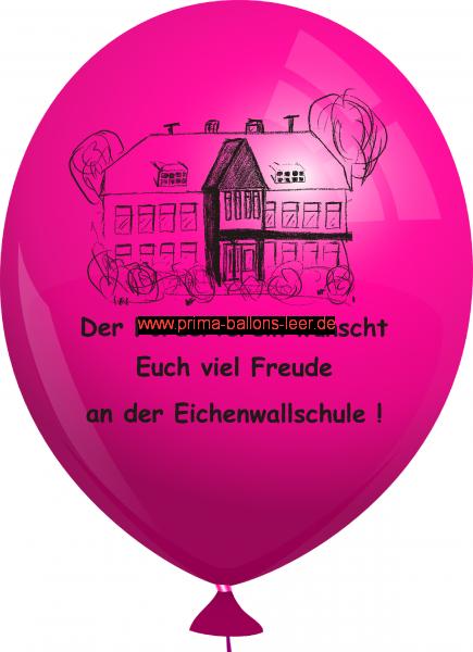 Werbeballon-bedruckt-Magenta-2