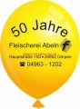 Werbeballon-bedruckt-Gelb-2