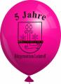 Werbeballon-bedruckt-Magenta