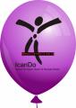 Werbeballon-bedruckt-Violett-2