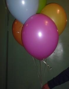 Ballonschnellverschluß für Heluimfüllung