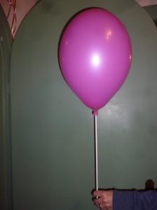 Ballonstange Kunststoff