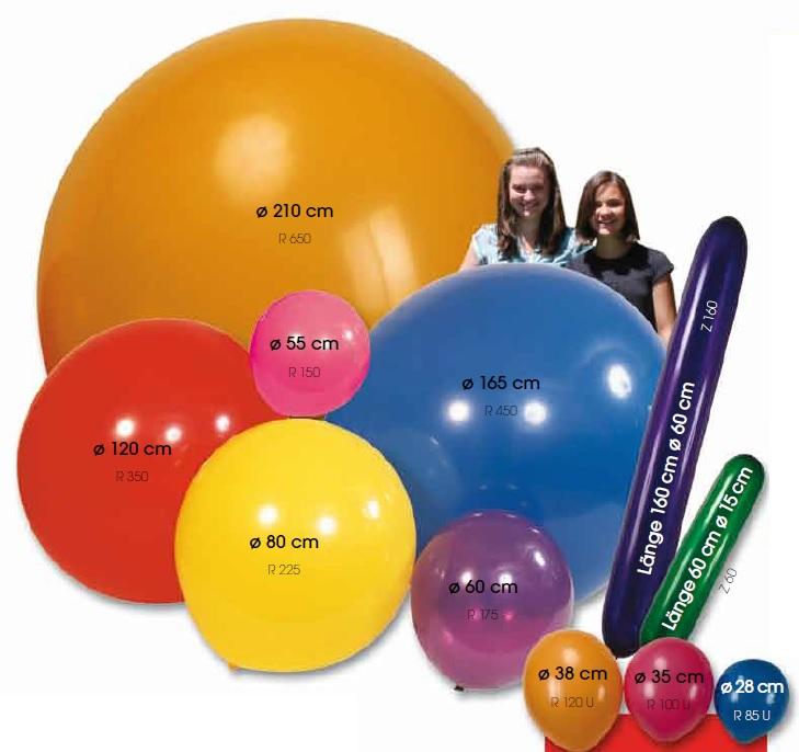 Groessen-Latexballons-Riesenballons-Luftballons