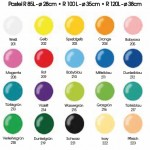 Farben Latexballons Pasteltöne