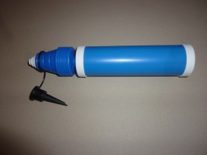 Luftballon Handpumpe