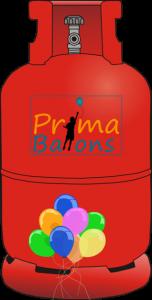 Ballongas Helium Prima Ballons Leer