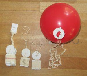 Bio Ballons Ballonverschluss ökologisch unbedenklich umweltbewusst biologisch abbaubar