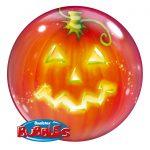 Bubble Ballon Kürbis Halloween