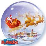 Weihnachtslandschaft Weihnachten Rentiere Kutsche