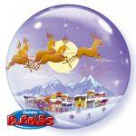 Weihnachtslandschaft Weihnachten Rentiere Kutsche 2